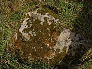 Stone with several cup marks - one shown at the