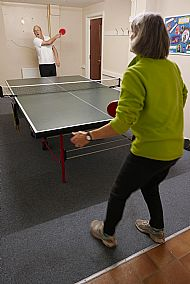 Table tennis - Andrew Jack & Penny Edwards