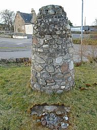 2000 Millenium cairn with time capsule.