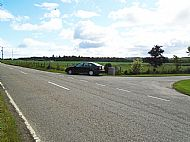 Do not park here - photograph helps to locate gateway from B9169