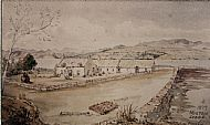 The view of Milltown as painted by the owner of Findon, MacKenzie, in 1879