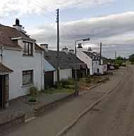 At the time these were the oldest buildings surviving in Culbokie - two more images at end of Gallery.