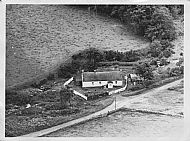 Shepherd's Cottage c1962. The mill pond was off to the left and the lade ran past the front of the cottage.