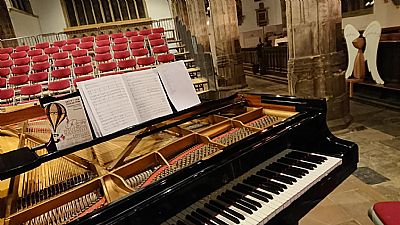 ready for the rossini concert. image courtesy of kirsty gauntley