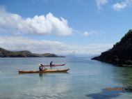 Paddling in amongst the 'Summer Isles'