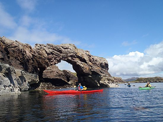 sandstone arch summer isles