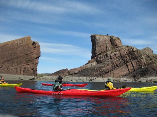kayaking at split rock