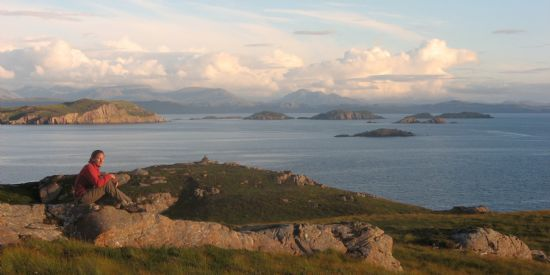 view of the southern summer isles