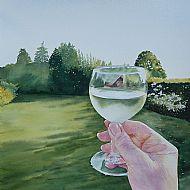 White Wine in the Sun