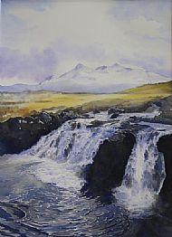 Snow Melt, the Cuillin