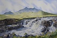 Sparking Waters of the Cuillin