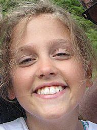 Caitlin Mary very happy