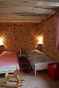 Twin room for children