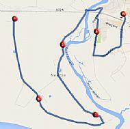 Annan 10 Mile Course