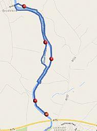 Festival River Route