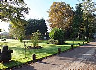 Main Drive to Ranksborough Hall