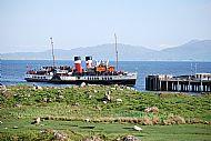 Waverley at Scalasaig Peir