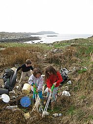Community beach clean