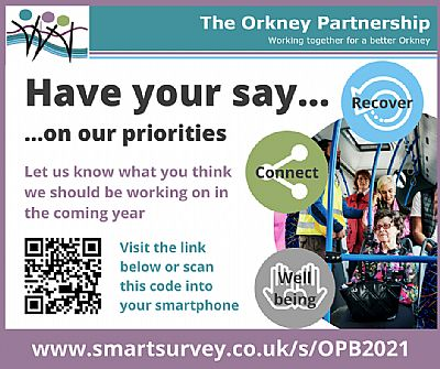 have your say on our priorities
