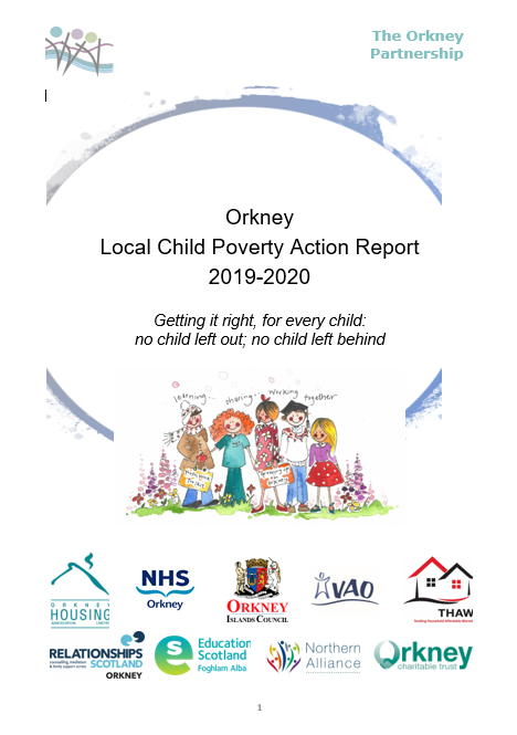 orkney local child poverty action report 2019-2020