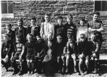 HPA016 -   Sellibister School c.1946. Teacher:Kathy Chalmers