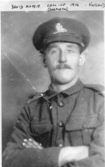 HPA036   David Moodie. Call-up 1914 Seaforth Highlanders