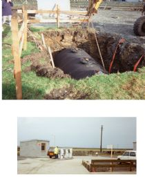HPA158   Roadside Shop, fuel arrives 1994