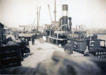 HPA165   'Edenside' (coal boat), at Kettletoft