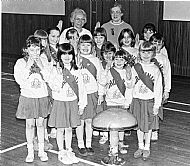 HPA353   Sanday Brownies, enrolment of new members, March 1993