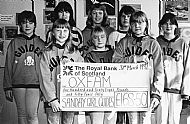 HPA352   Sanday Guides raised over £160 for Oxfam from a 24 hour  sponsered fast. April 1992.