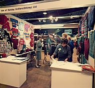 HPA497   Sanday Knitters, Trade Fair Aviemore, 1985/86