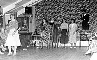 HPA501a   Sanday Knitters, Fashion Show in the old Community Hall (now the Heritage Centre)