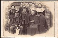 HPA276   The Scotts of Sanday, 1902?