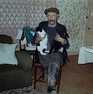 HPA730   Bill Wallace of Prattsfauld, Ivy Cottage, 1960's