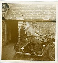 HPA061   Jock Brown and his sister Jean