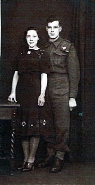 HPA109   Charlie Hitchen and Violet. Call-up: 1941 Served on Sanday
