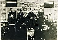 HPA123   Sanday Pipe Band 1912