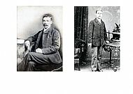 HPA167   Robert Hay (1865 - 1933). Born at Purgatory. Father of Minna. Miller at Mill of Bea