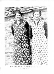 HPA473   David Moodie's (Noutland) mother  and grandmother