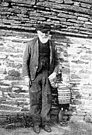 HPA490   William Moodie and Willie Moodie, Longbiggin c.1923