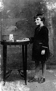 HPA752   Margaret Towrie (9 years), 1927