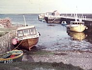 HPA734   Boats at Kettletoft Pier