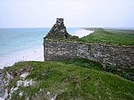 HPA284   Storehouse, near Saville (Orkney Image Library: Karl Cooper)