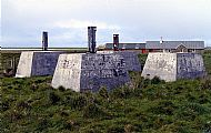 HPA104   Mast footings, Relief Radar Station, Lettan
