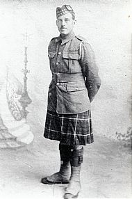 HPA129   William Towrie, Clickimin Seaforth Highlanders killed in action 1918