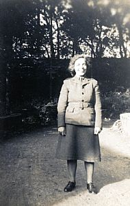 HPA163   Robina Hay in NAAFI uniform