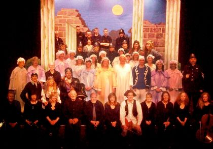 cast, crew and orchestra for pirates of penzance