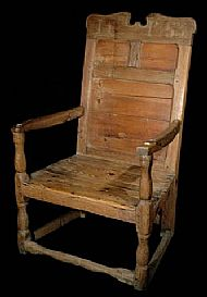 African Chief's Throne