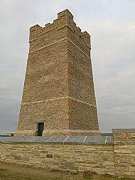 Memorial wall and refurbished Kitchener Memorial