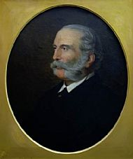 Portrait of Dr John Rae